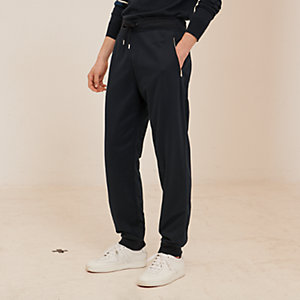 Bicolor jogging pants