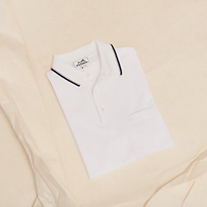 """Rayure Sellier"" polo shirt with pocket"