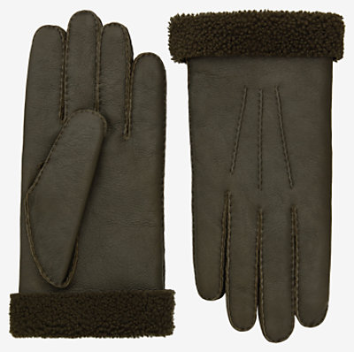 Bouclette gloves -