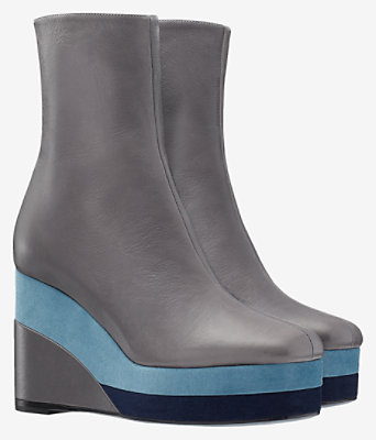 Square ankle boot -