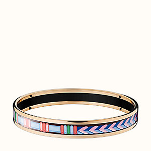 Tressages d'Apparat Chevron bangle