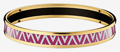 Manufacture de Boucleries Chevrons bangle -