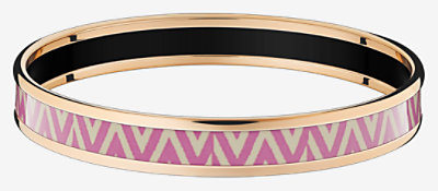 Manufacture de Boucleries Chevrons bangle - H212895FO8465