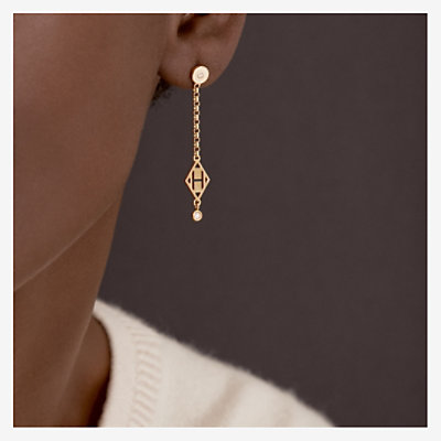 Gambade H earrings -