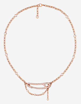 Chaine d'Ancre Punk necklace, medium model -