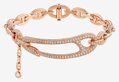 Chaine d'Ancre Punk bracelet, medium model -