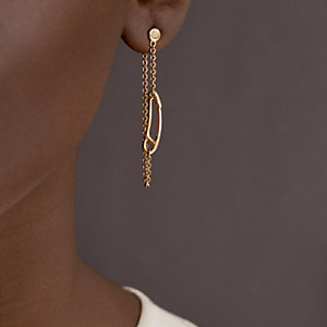 Chaine d'Ancre Mini Punk earrings