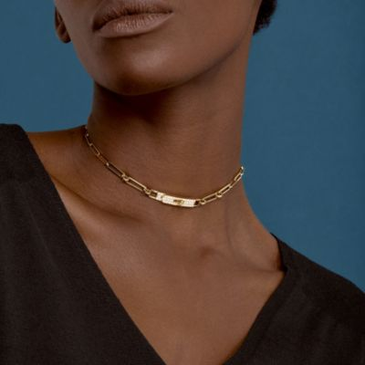 Kelly Chaine choker, small model