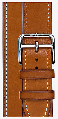 Heure H Watch Strap Double Tour, 26 x 26 mm, short -