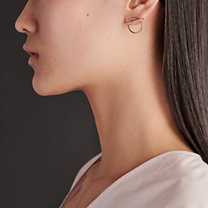 Echappee Hermes earrings, medium model