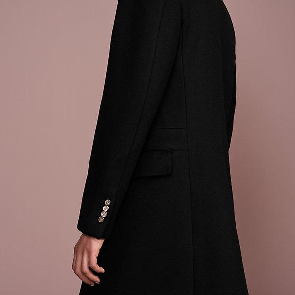 Double breasted leather jacket Man | Mango Man Cambodia