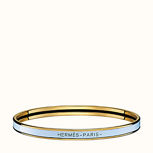 Solid enamel bangle