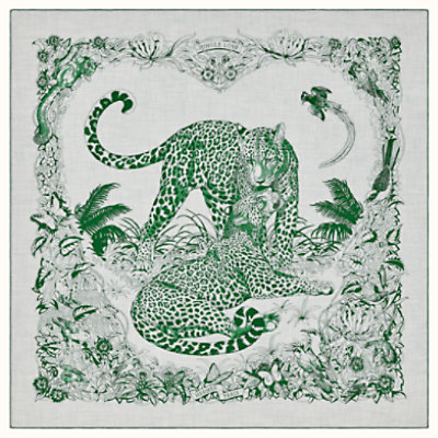 Jungle Love Tattoo shawl 140