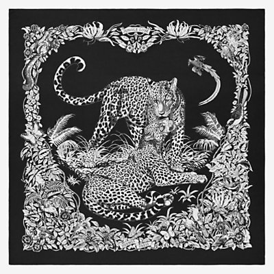 Châle 140 Jungle Love Tattoo -