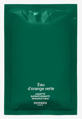 Eau d'orange verte Refreshing perfumed wipes -