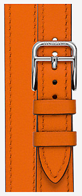 Heure H Watch Strap Double Tour, 17.2 x 17.2 mm, long -