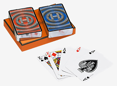 L'Effet Domino bridge cards -