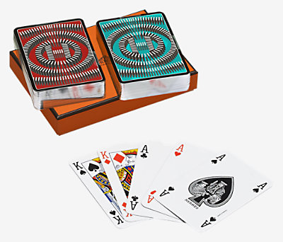 L'Effet Domino poker cards -