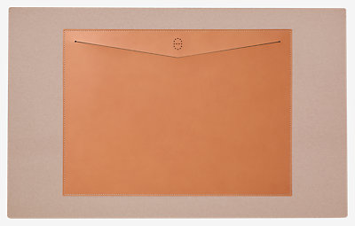Folio desk pad -
