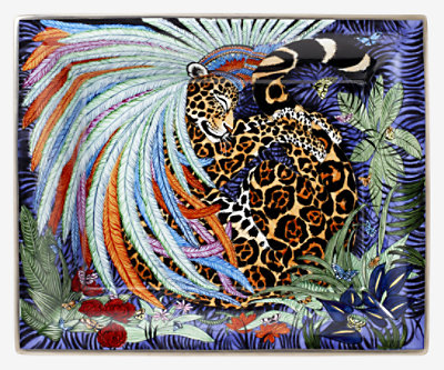 Jaguar Quetzal change tray -