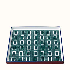 Perimetre square tray, large model