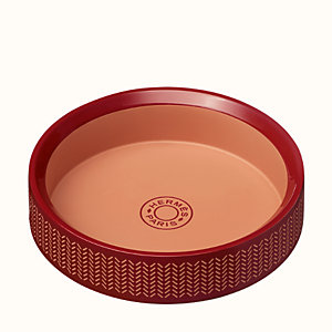Boudoir round change tray, small model