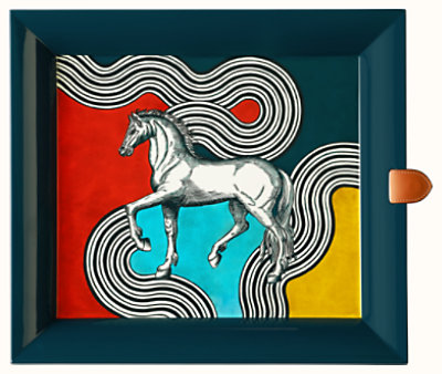 Cheval Cosmique tray