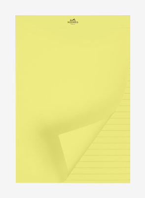 Yellow Pad notepad refill, small model -