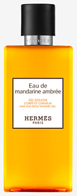 Eau de mandarine ambree Shower gel -