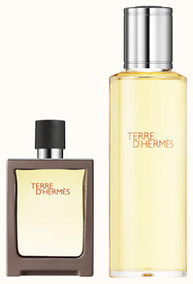 Terre d'Hermes Eau de toilette travel spray and refill