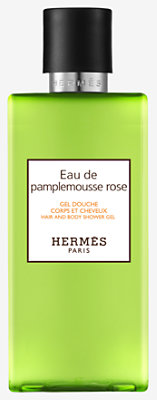 Eau de pamplemousse rose Hair and body shower gel -