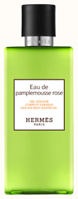 Eau de pamplemousse rose Hair and body shower gel