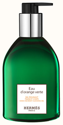 Eau d'orange verte Gel moussant mains et corps