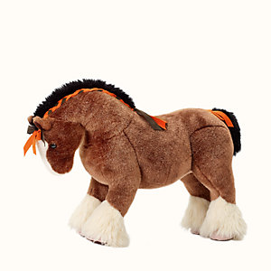 Hermy plush horse, small model