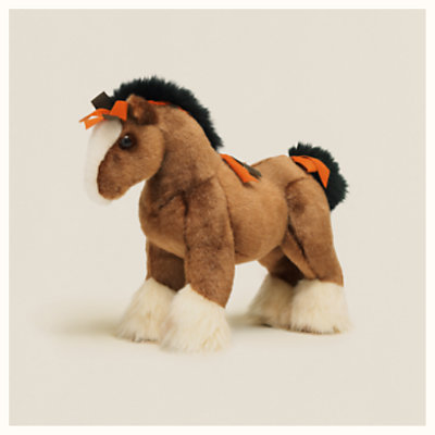 Hermy plush horse, very small model