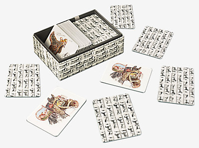 La Collection Emile Hermes memory game -