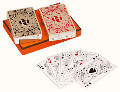 Les 4 Mondes bridge cards