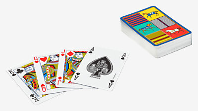 Couvertures Nouvelles bridge playing cards -