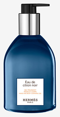 Eau de citron noir Hand and body cleansing gel -