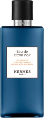 Eau de citron noir Hair and body shower gel