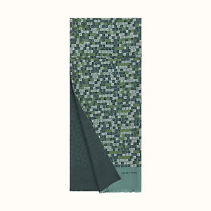 Follow Reflets d'Etoiles double-faced scarf