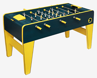 Foosball table -