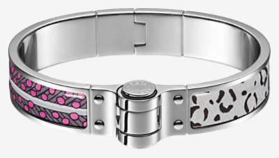 Baobab Cat hinged bracelet -