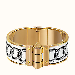 Les Chaines hinged bracelet
