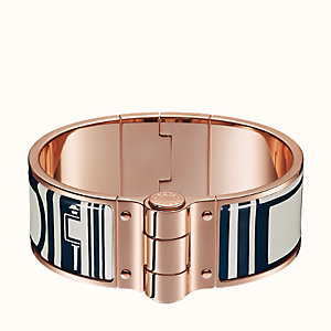 Les Coupes Tattoo hinged bracelet