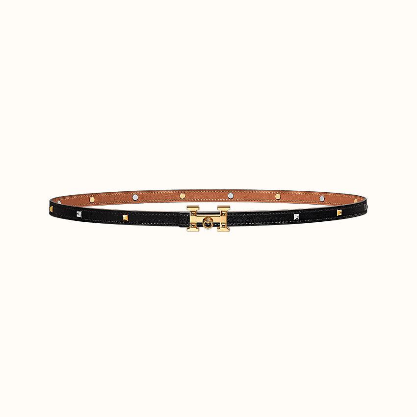 zoom image, 5382 Rock belt buckle & Clous Medor leather strap 13mm