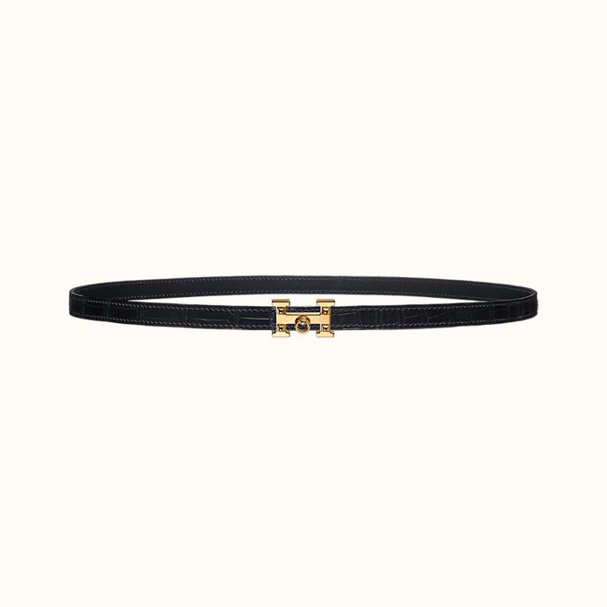 zoom image, 5382 Rock belt buckle & Leather strap 13mm