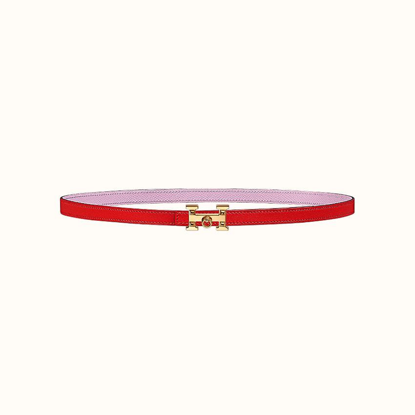zoom image, 5382 Rock belt buckle & Reversible leather strap 13mm