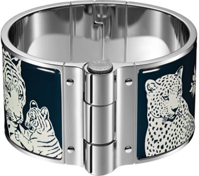 Tendresse Feline Tattoo hinged bracelet