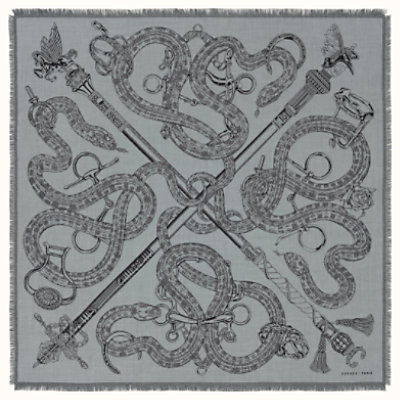 Caducee Rock scarf 100
